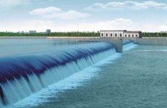 新野县白河1#橡胶坝工程